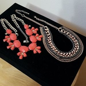 Statement Necklace Duo